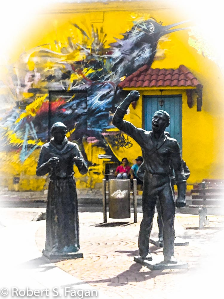Walled City Statues
