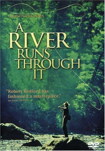 """the film a river runs through A river runs through it premiered on october 9, 1992 – 25 years ago based on the novella by norman maclean, """"a river runs through it"""" launched the career of brad pitt and boosted interest in fly fishing even as it celebrates its 25-year anniversary, the movie continues to captivate viewers who resonate with its story of tragedy, family."""