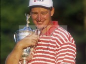 Els with 1997 U. S. Open Trophy