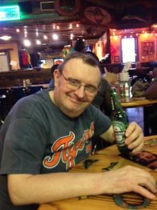 Eddie celebrating his 65th birthday