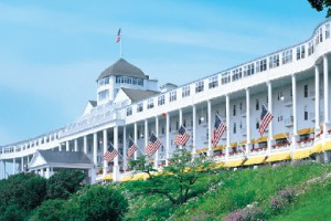 The Grand Hotel on Michigan's Mackinac Island