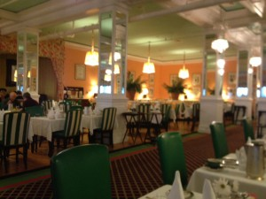 Main Dining Room at the Grand Hotel