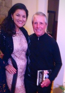 Elisa and 'Titan' Gary Player