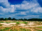 Hell's Half Acre -- No. 17, Par 3 at Purgatory Golf Club.  Photo courtesy of Tenna Merchent, Purgatory Golf Club