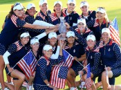 Victorious 2015 U.S. Solheim Cup Team