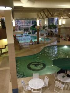 Indoor pools at Grand Traverse Resort and Spa