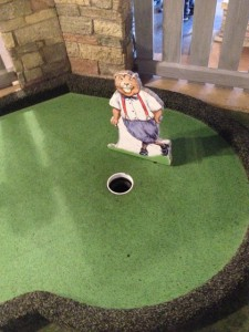 Golf hole in MY Museum golf gallery