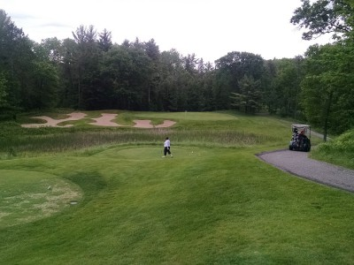8th Hole at Black Lake Golf Club (photo by Paul Bairley)