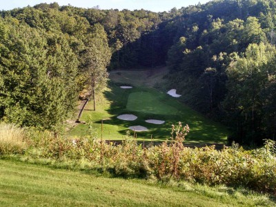 Threetops Hole #7 (photo by Paul Bairley)