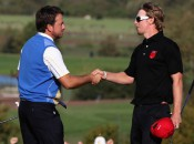 The Ryder Cup came down to the last match between McDowell and Mahan.
