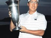 Lion Kim earned his Masters spot by winning the U.S. Public Links title
