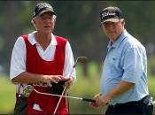 The caddie/player team of McFadden-Lewis will be reunited at the Masters