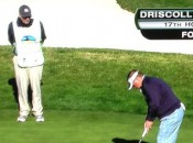 Dieleman is praying this putt goes in for Coach Kelly