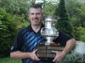 Tom Werkmeister with his GAM Mid-Am trophy