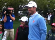 Priceless: Tiya Chowdary and Adam Scott