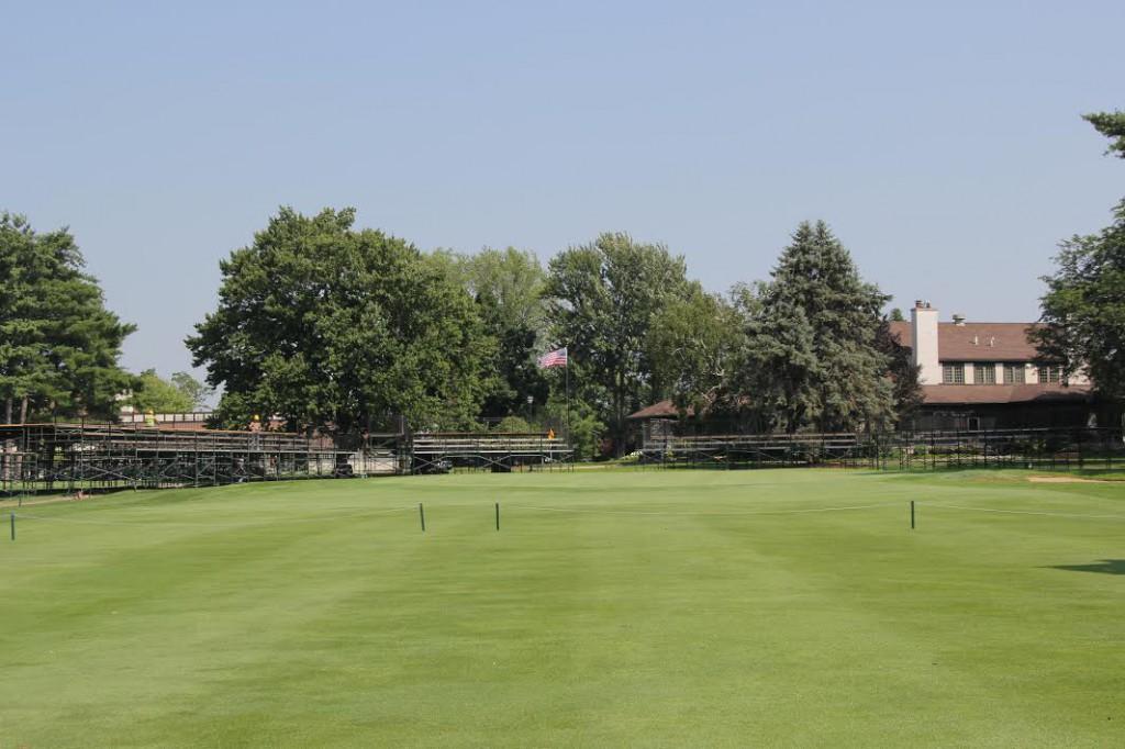 Blythefield's finishing holes will provide great vantage spots