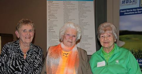 l to r: Shirley Spork, Betty Richart and Mary Fossum