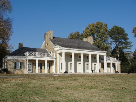 The Visitor Center at Chickamauga Battlefield