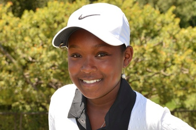 Shani, a junior golfer in LA, was invited to do a Q & A with the honored guest