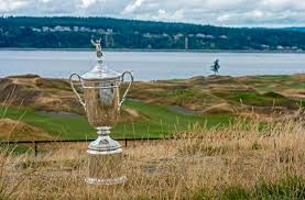 The images at Chambers Bay were stunning