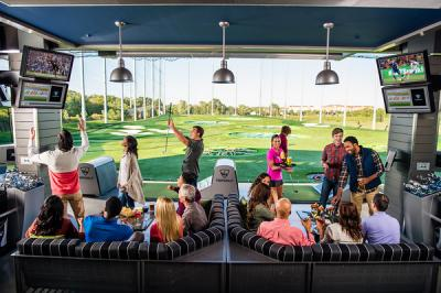 Topgolf offers practice, entertainment and camaraderie