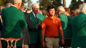 Doug Ghim wins the Silver Cup at the Masters