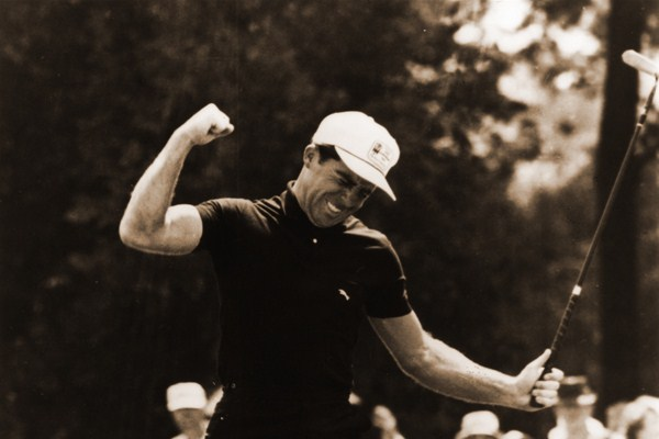 At the '65 U.S. Open at Bellerive, Player completed the career Grand Slam