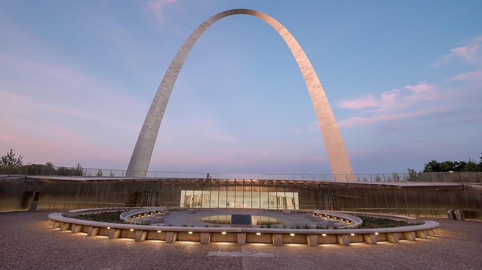 The Gateway Arch & grounds have been beautifully renovated