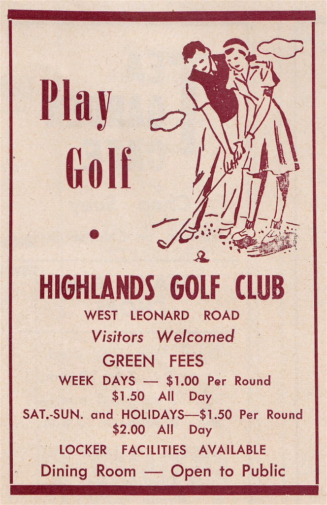 Play Golf, circa 1948