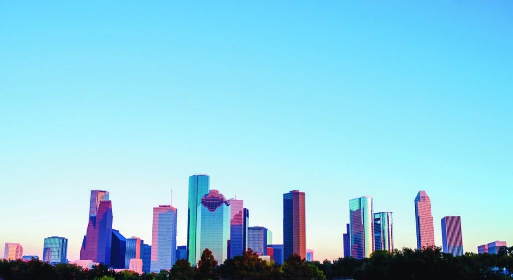 Houston downtown skyline