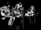 A 1970 publicity photo of Crosby Stills Nash & Young