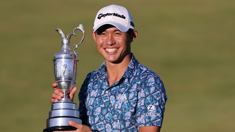 In balmy weather, Morikawa is the Champion Golfer of the Year