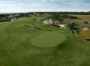 Third Green at Kiawah's Ocean Course             (Joann Dost)