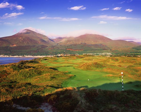 royal county down irish golf s dark star