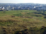 The village and the golf course at Lahinch are virtually contiguous.