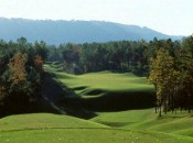 The landscape of Oxmoor Valley's Ridge Course offers almost no angle of repose.