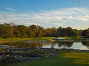 Cotton Creek's scenic and simple par three 13th.