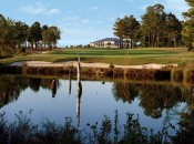 The 18th hole at Pinehurst No. 8 could stand in for any number of Fazio finishers.