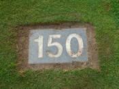 150 yard marker