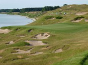Stunning holes along Lake Michigan like the par-3 3rd at Whistling Straits have made the Straits Course an international destination.