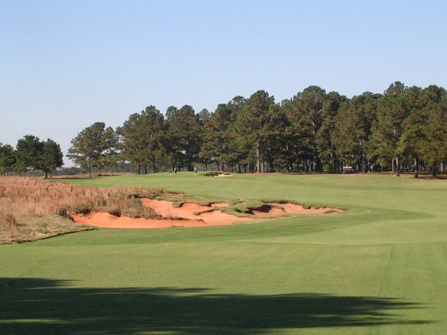 The opening tee shot at Cuscowilla is one of the most tantalizing in the state.