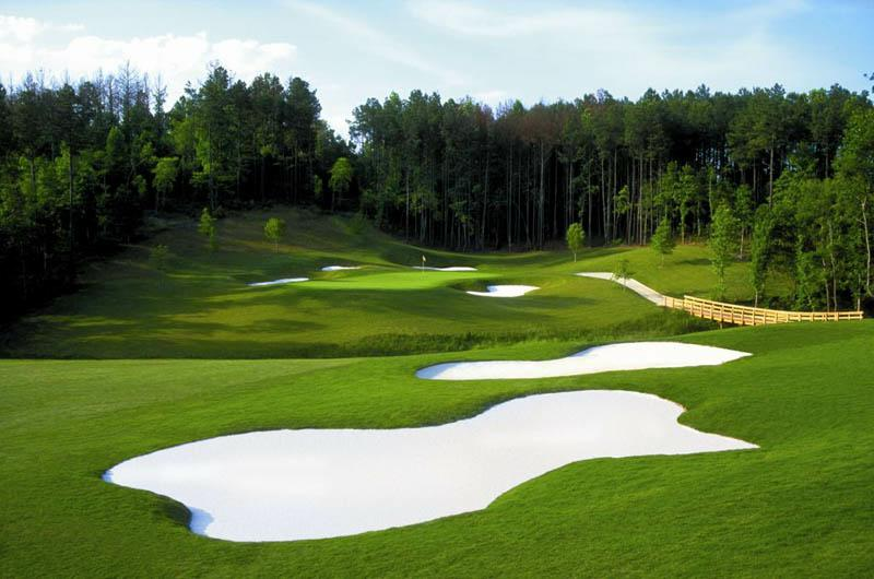 The 7th hole at Atlanta's Bear's Best outpost.