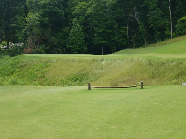 The dangerous 11th green site is worthy of more than what leads up to it.