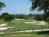 The short par-4 8th, reachable from the correct tees, gives a sense of the character of The Deltona Club property.