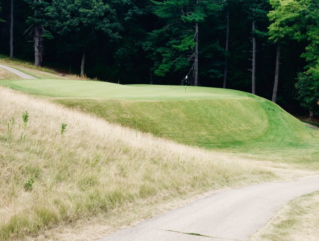 There aren't many par-3's like Lawsonia's short 7th. The story goes that an old railroad car left on-site couldn't be removed, so they built the hole on top of it.