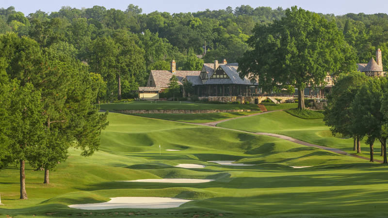 The Country Club of Birmingham's West Course is an exuberant mixture of ideas from Ross and Dye.