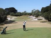 Royal Melbourne Line Mortensen 5th hole