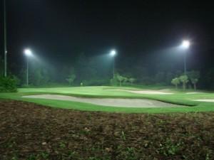 Night golf at Mission Hills