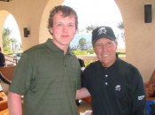 Joe Whitley and designer Gary Player at Saadiyat Beach Golf Club