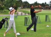 Cameron Diaz and A-Rod at home on the range